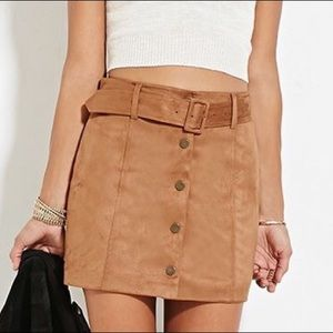 Forever 21 Suede Skirt